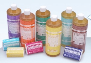 Photo courtesy: Dr. Bronner's Magic Soaps
